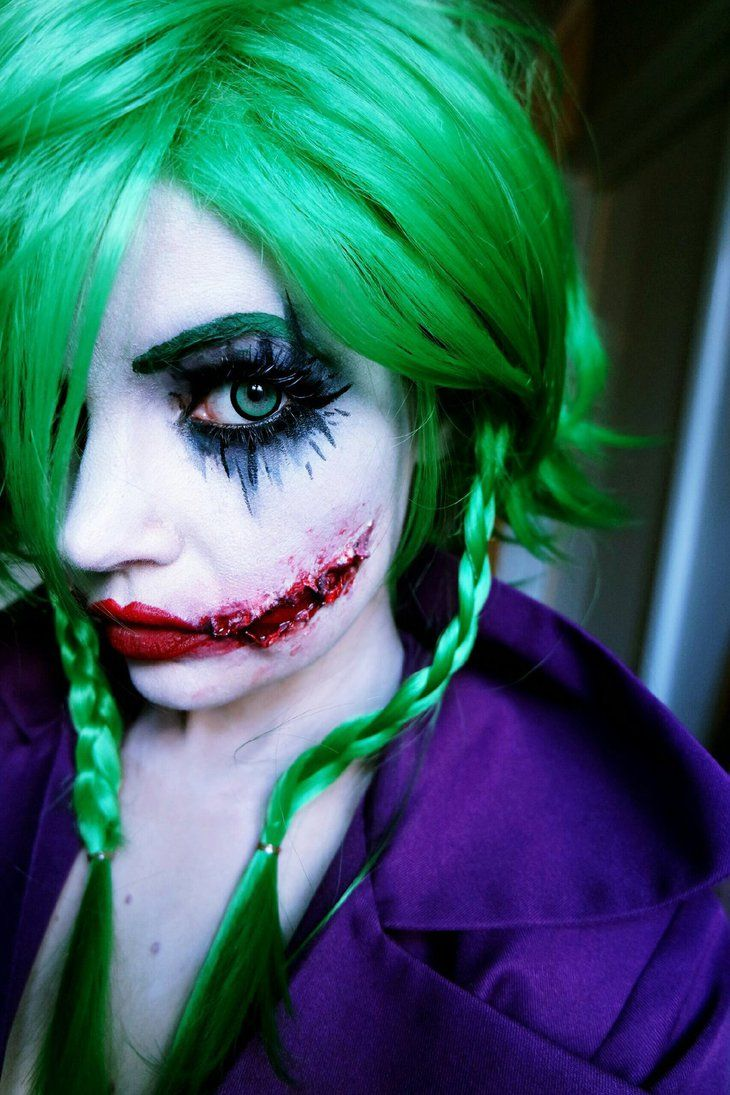 Female version of The Joker cosplay by Labrinthia on Deviantart