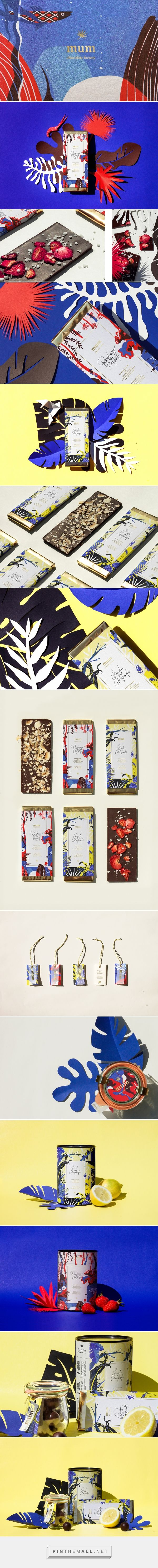 mum chocolate packaging design by Alessia Sistori