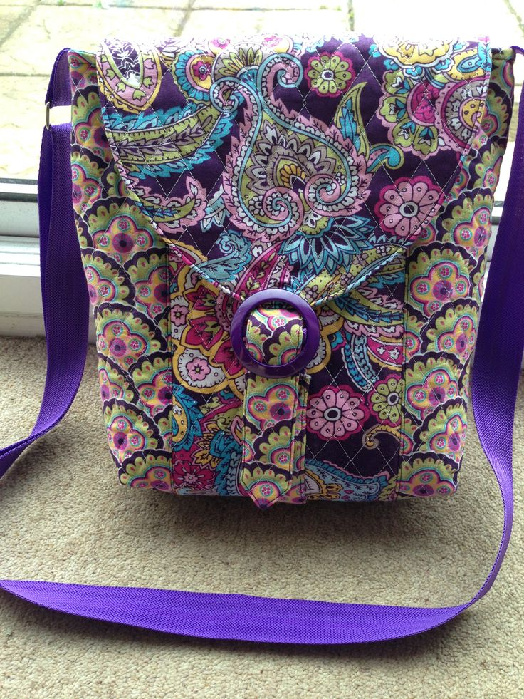 So Sew Easy cross body bag