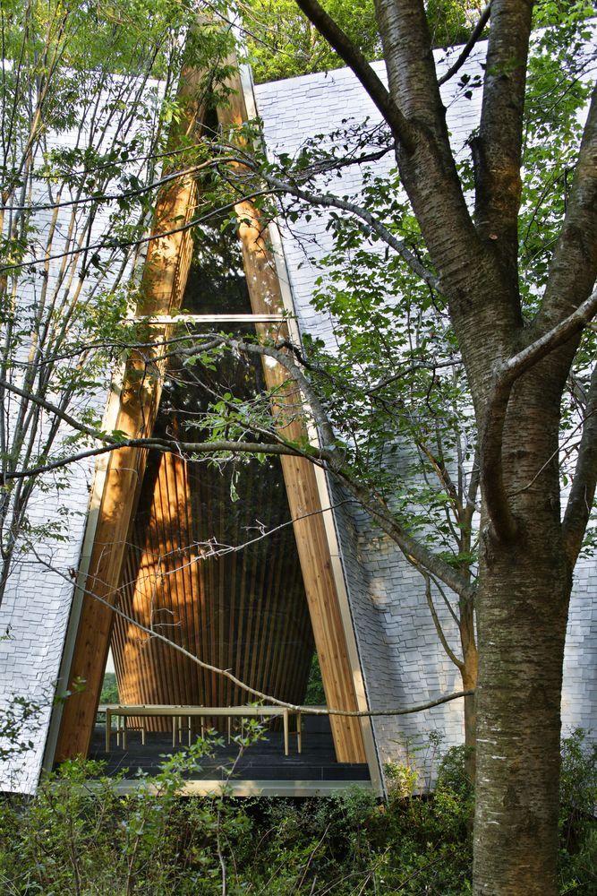 Gallery of Sayama Forest Chapel / Hiroshi Nakamura & NAP - 6