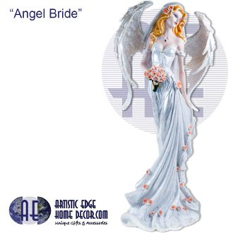 """Angel Bride"" Divinity Angels Collection Collectable Angels"