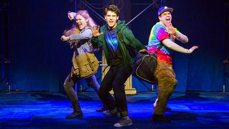 'The Lightning Thief: The Percy Jackson Musical': Theater Review