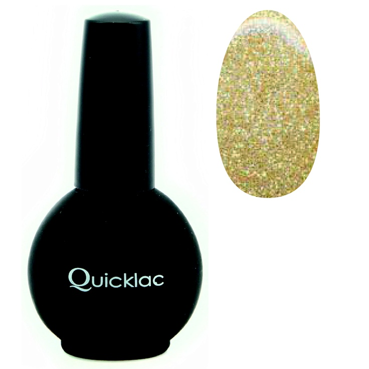 Quicklac Gold Glitter