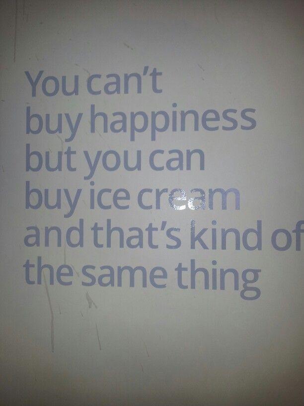 in  Dublin ice cream shop
