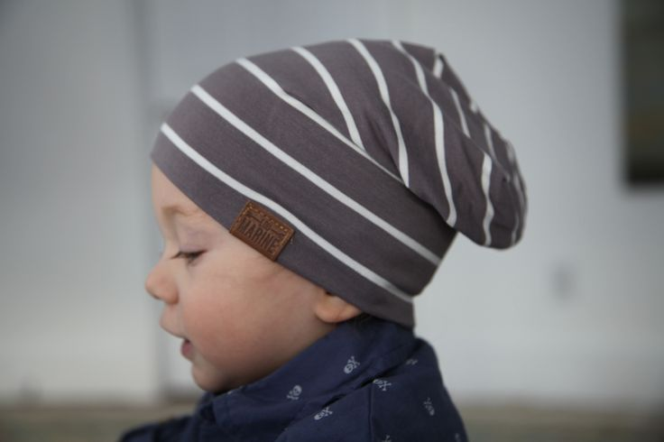 Bambeanie Earl Grey Slouchy Beanie #LouMarine  #kidsfashion #Children