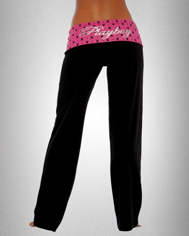 Playboy Cotton Spandex Pant by Playboy Intimates for PlayboyStore.com $27.95