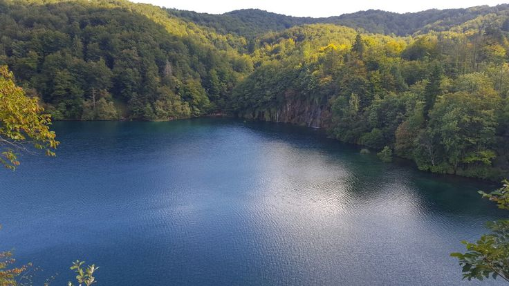 Plitvice lake, Croatia. No words to describe this wonder of nature