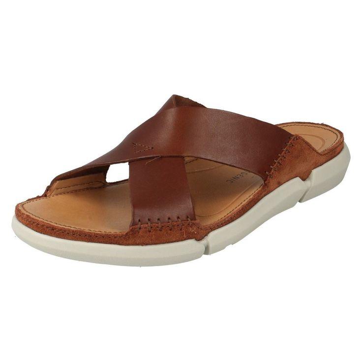 United Footwear - Men's Clarks Casual Mule Summer Sandals Trisand Cross, �59.99 (http://united-footwear.co.uk/mens-clarks-casual-mule-summer-sandals-trisand-cross/)