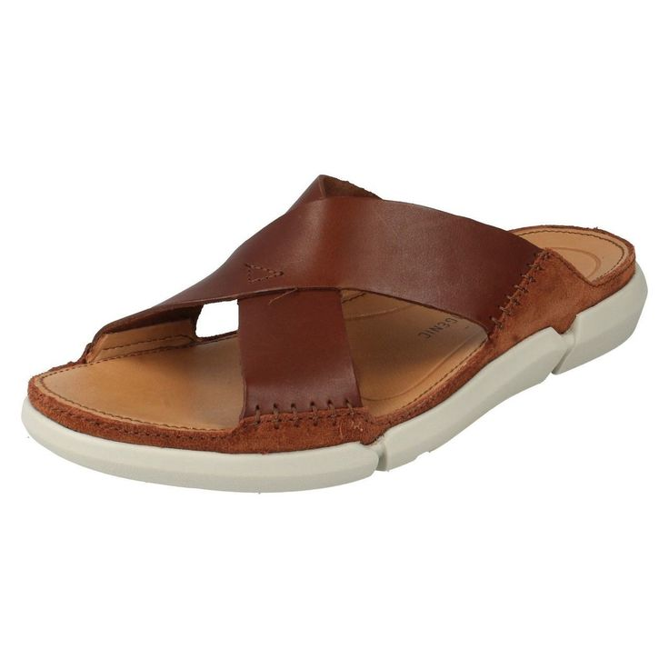 United Footwear - Men's Clarks Casual Mule Summer Sandals Trisand Cross, �59.99 (http://united-footwear.co.uk/mens-clarks-casual-mule-summer-sandals-trisand-cross/)