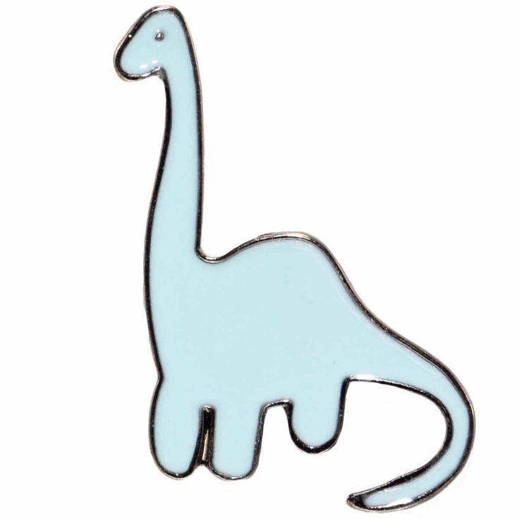 Enamel Pin - Dinosaur Diplodocus