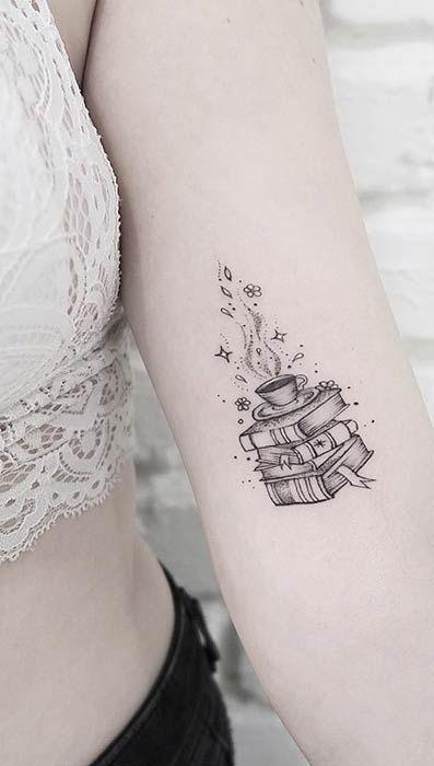 23 idées de tatouage fantastiques pour les amoureux des livres – Idées de tatouage – #Livers Lovers …   – Best Tattoo