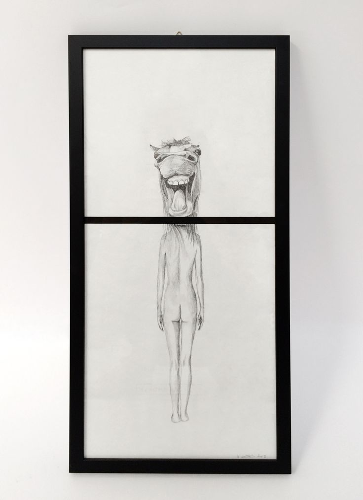 Woman Donkey by Carlotta Carzaniga