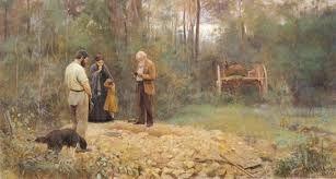 Frederick McCubbin - Bush Burial