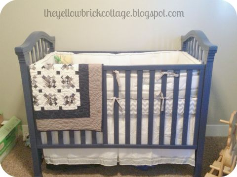 Baby Boy Crib Decor
