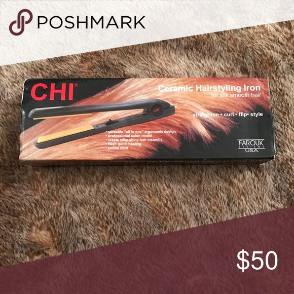 Chi Hair Straightener The classic Chi hair straightener. Brand new, never opened. Chi Accessories Hair Accessories