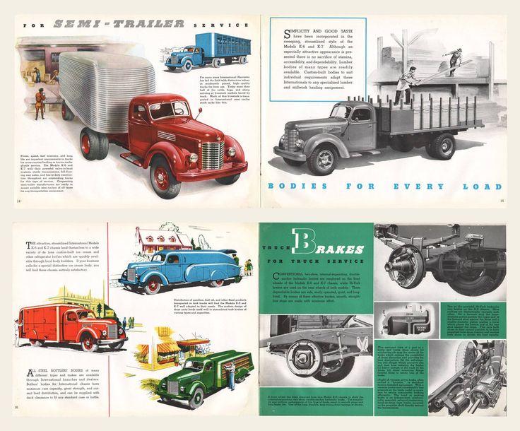1945 International Harvester Trucks Brochure I OldBrochures.com