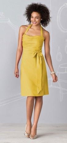 Bridesmaid Dress -yellow$59.99