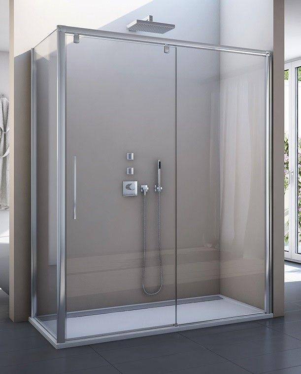 Glaswand Dusche Ma?anfertigung : 70 x 200 cm Dusche Ma?anfertigung Sonderh?he bis 2000 mm Dusche