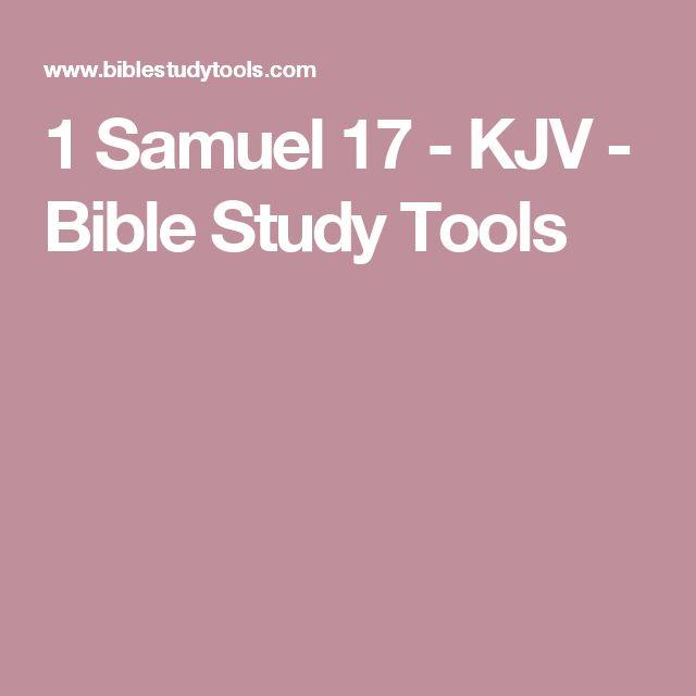 1 Samuel 17 - KJV - Bible Study Tools