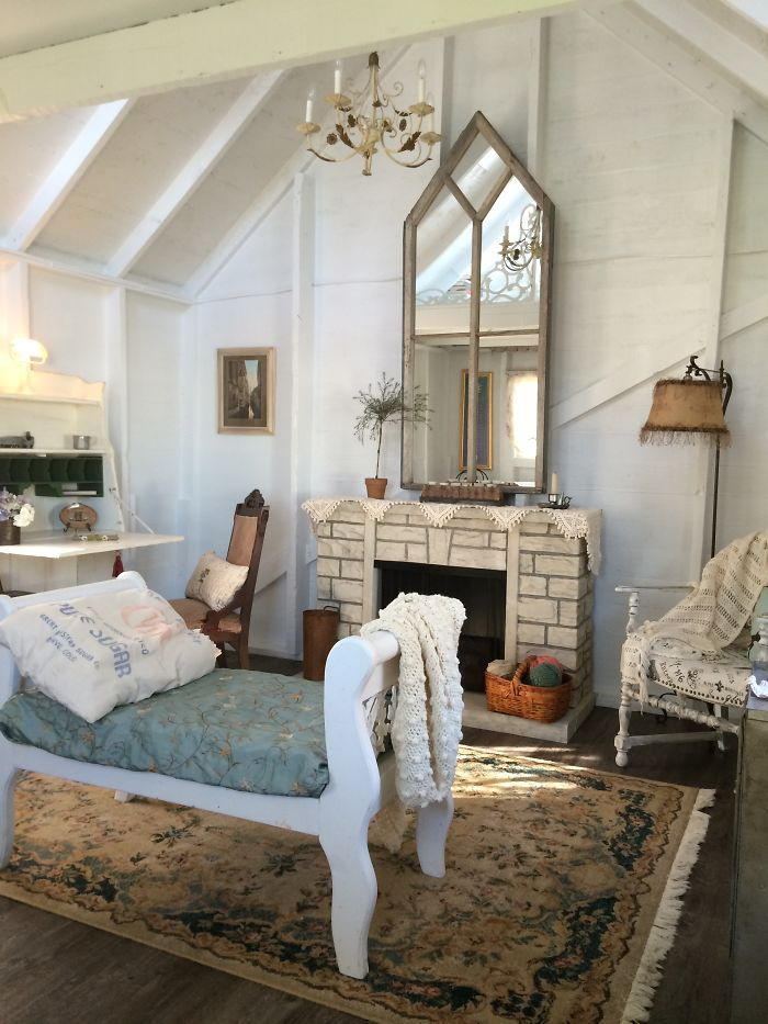 60 best she sheds images on pinterest cottage homes and architecture - Man caves chick sheds mutual needs ...