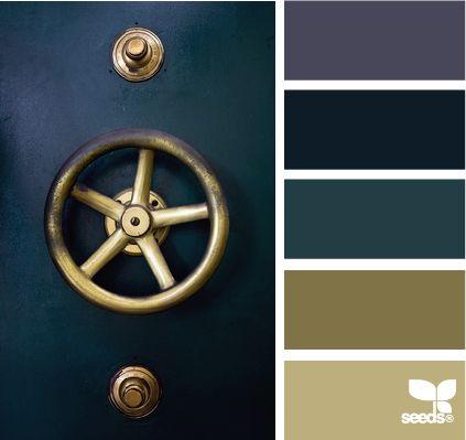 Nautical color scheme remplacer cappucino par doré et beige par bois scandinave