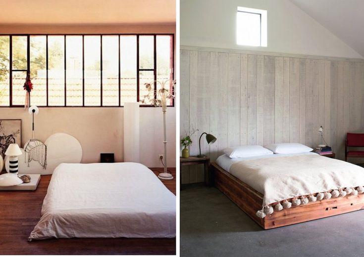 Chambre Bebe Vert Bleu : chambre japonaise inspiration blanc pur intérieur deco japonisante
