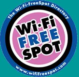 If you need a free WiFi spot while you are on the go, check out this site for a directory near you. Wi-Fi is a registered certification mark of the Wi-Fi Alliance.