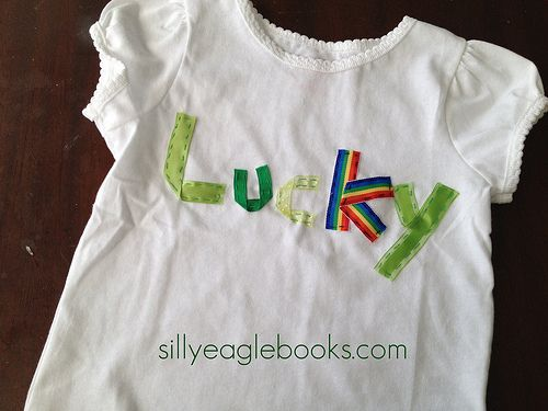 The cutest DIY St. Paddy's shirts EVER!