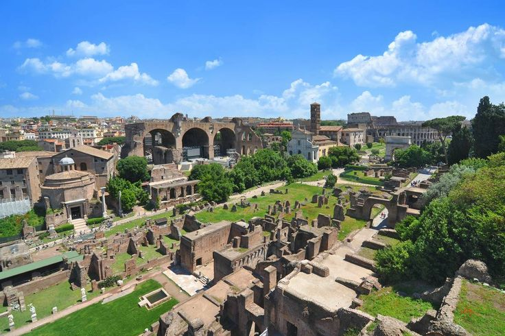 Palatine Hill - Featured on RueBaRue... according to legend, the site where Romulus established Rome in 753 BC.