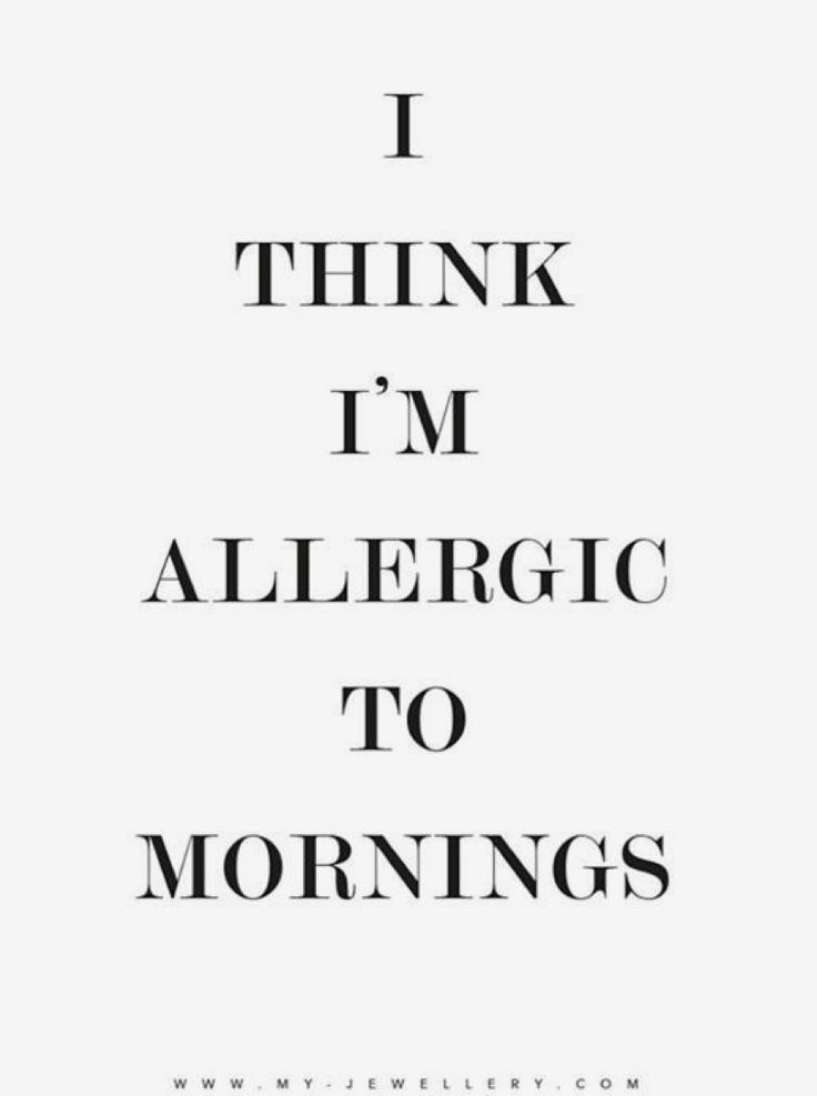 Allergic for mornings. @milouvollebregt from My Jewellery