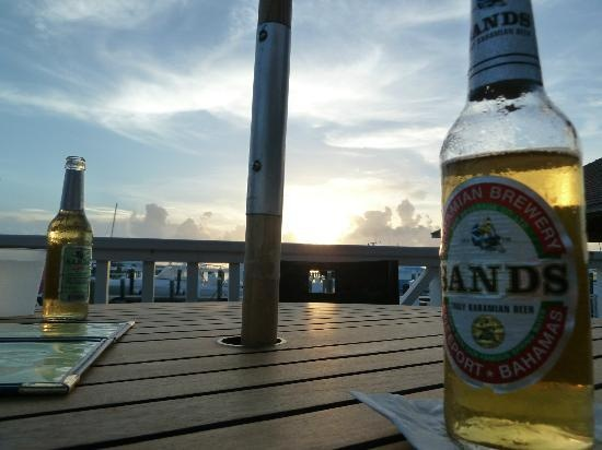 Because i want a beer with a tropical Sunset (from the Marina Bar & Restaurant at Valentines)