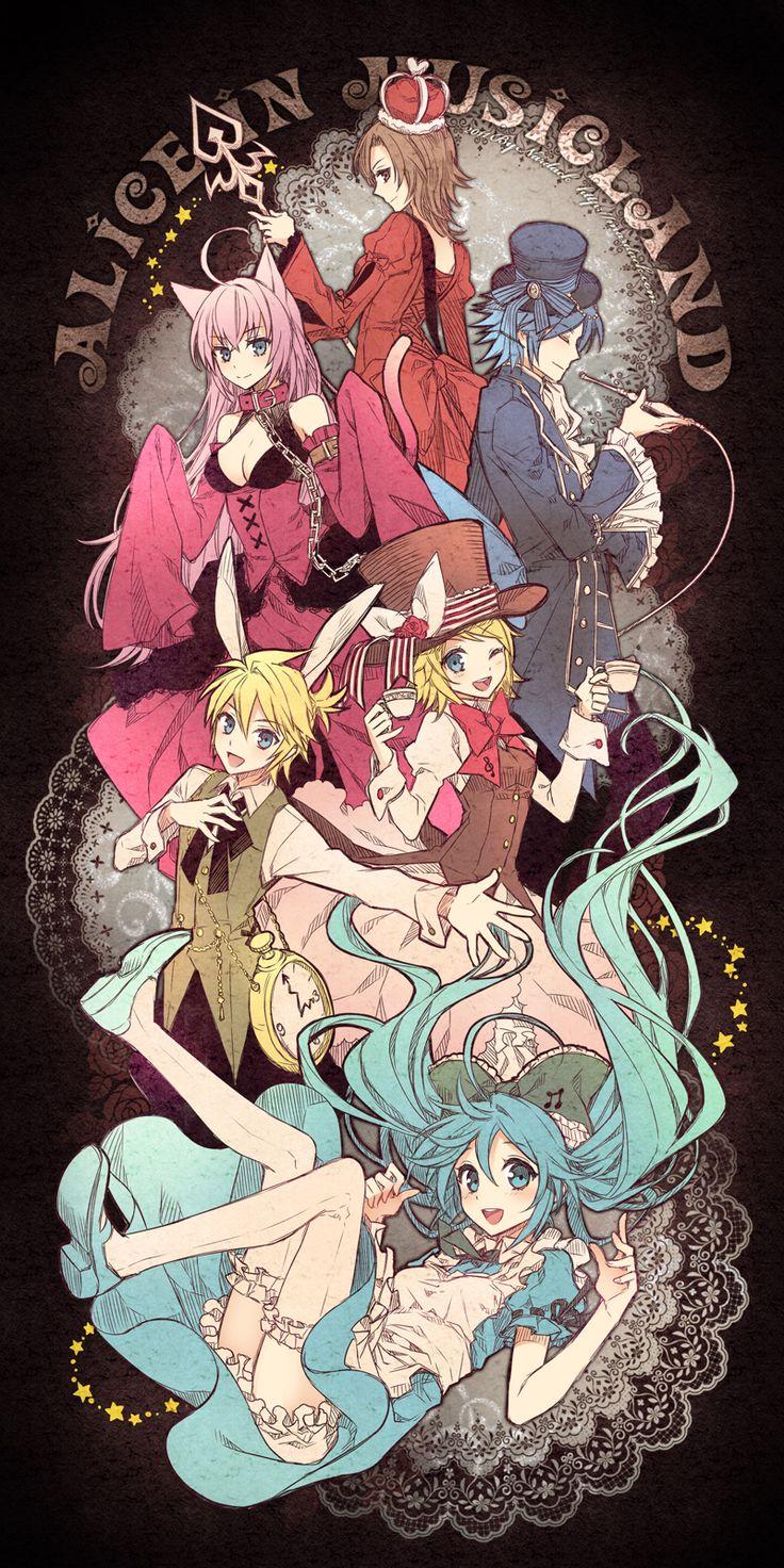 Alice in Music land - vocaloid by animebabe721.deviantart.com on @DeviantArt
