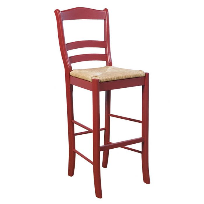 Paloma Barstool in Red