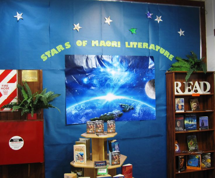 Stars of Maori literature in the library!