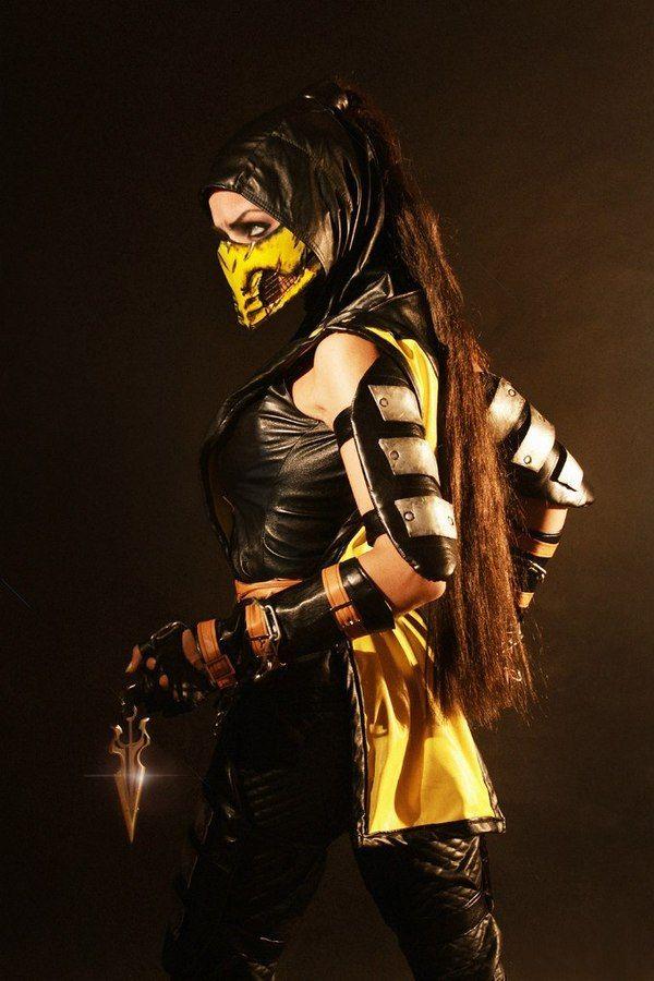 Female Scorpion от Алены Март девушки, русский косплей, Косплей, Mortal kombat, скорпион, длиннопост