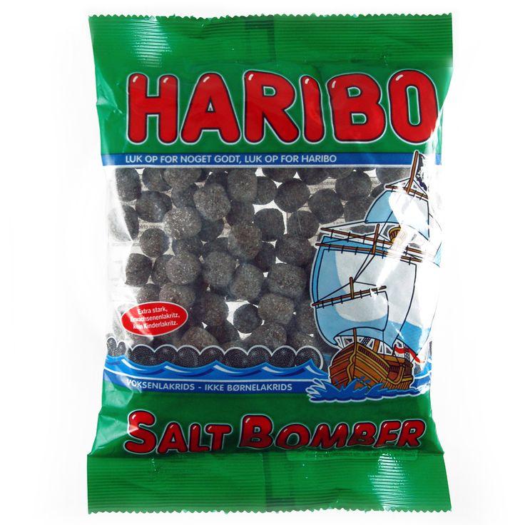 -in USA- HARIBO Salt bomber - Licorice gummies -325g