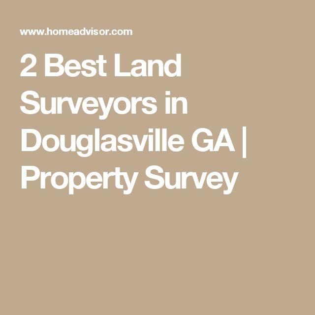 2 Best Land Surveyors in Douglasville GA | Property Survey