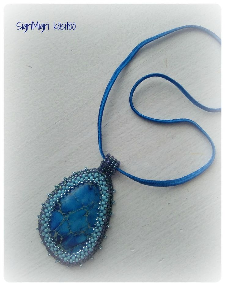 Bead embroidery -necklace