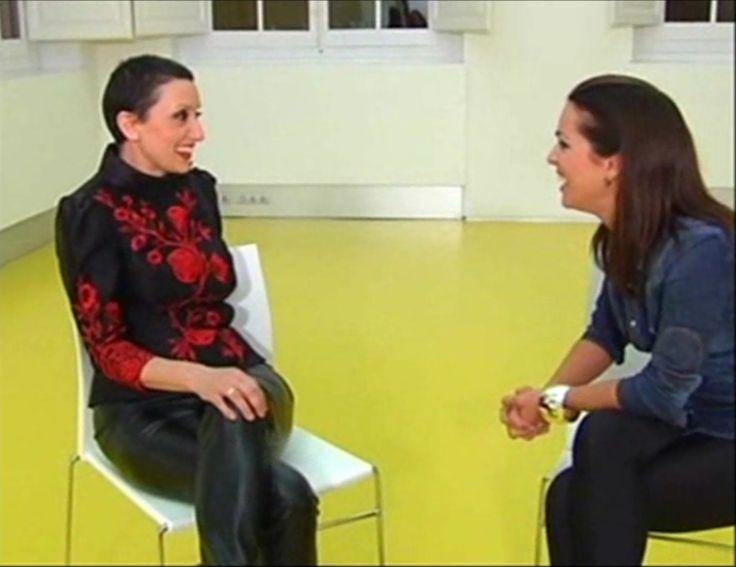 Entrevista a Luz Casal para TV, realizada por Melania Guijarro. Madrid. 2011.