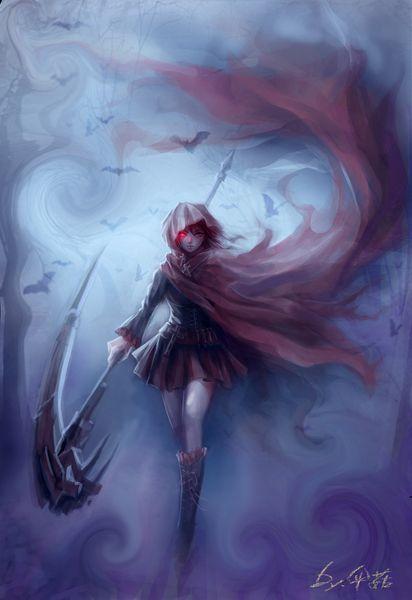 红色死神 ruby/枯死的伞菇