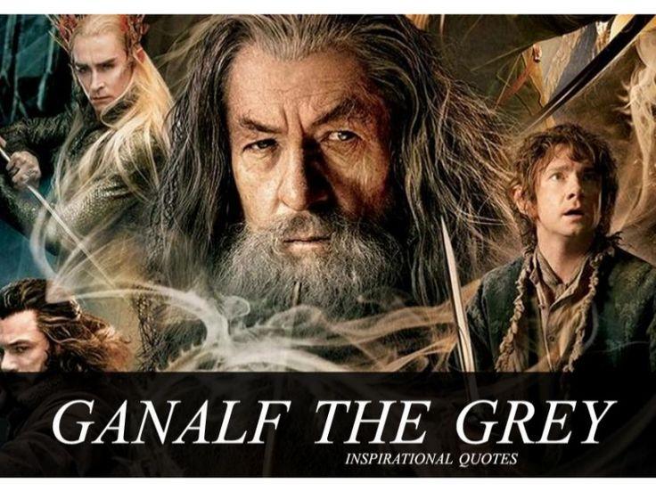 Ganalf the Grey - Inspirational Quotes by SeoCustomer.com via slideshare