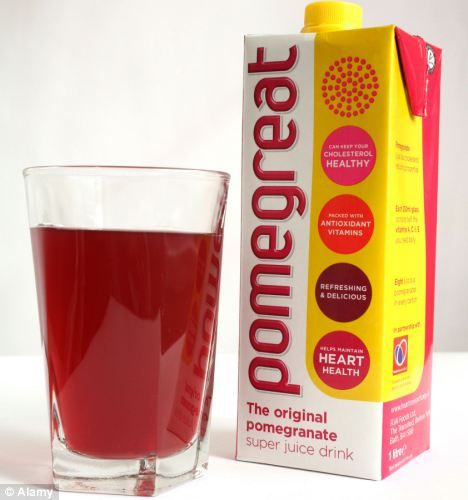 'Viagra effect' from a daily glass of pomegranate juice as study shows it boosts our sexual desire
