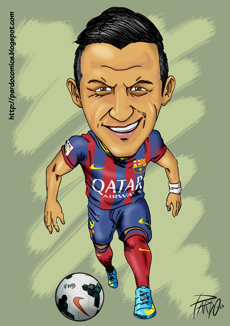 ALEXIS SANCHEZ by pardocomics.deviantart.com on @deviantART