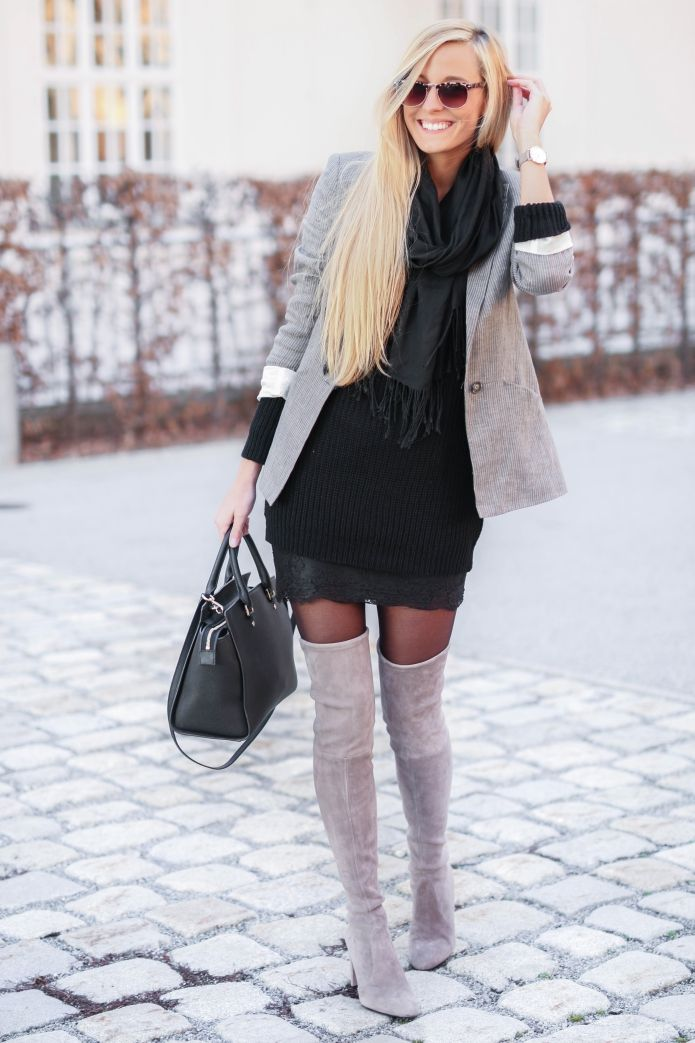 29 simple Overknees Outfit Tumblr