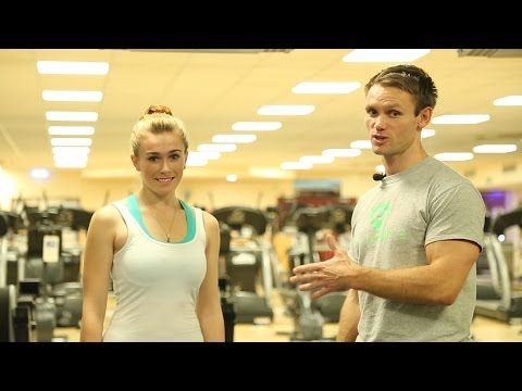 How to tone up your legs and bum with split lunges - YouTube