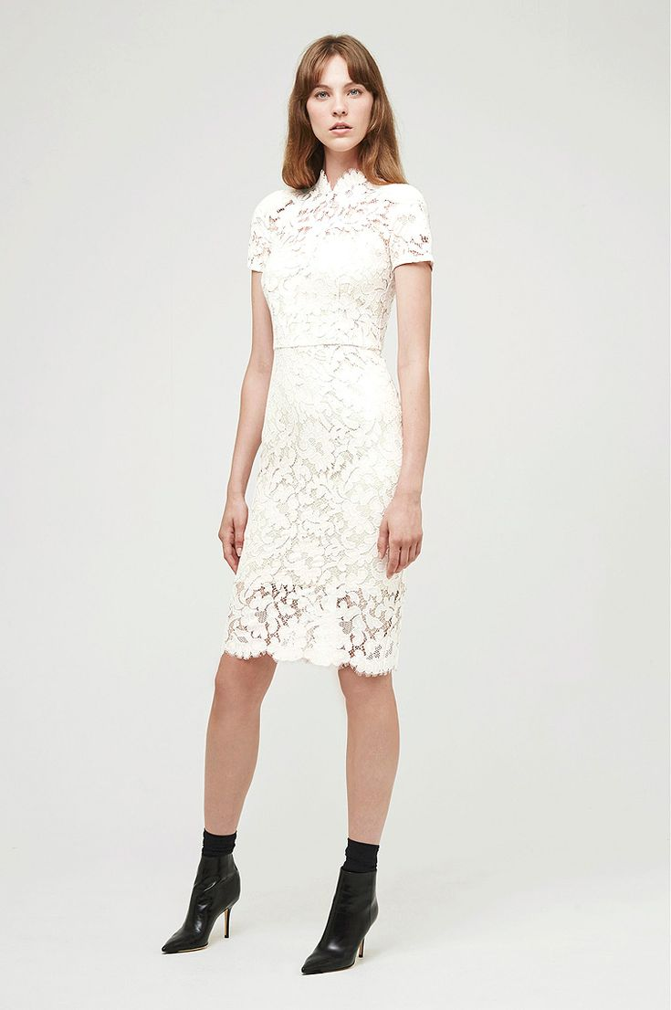 'Warrior' Lace Midi Dress. Email us at shop@loverthelabel.com