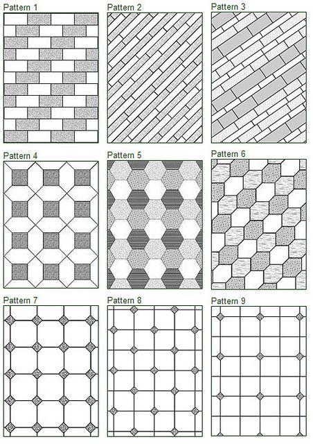 93 best images about layout tiles schemi di posa - Posa piastrelle ...