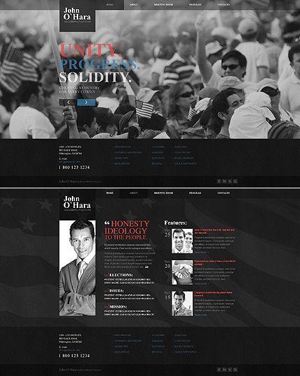 Best Politics Web Design Images On   Politics Web