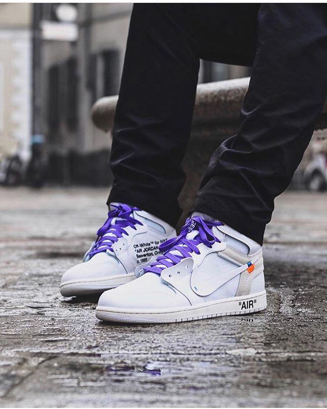 huge discount 87452 829cd Off White x Nike Air Jordan 1