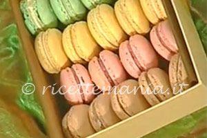 Ricetta dei  macarons  di Luca Montersino